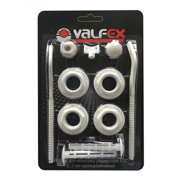 Комплект для монтажа радиатора Valfex 1 2 без креплений