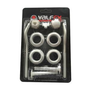 Комплект для монтажа радиатора Valfex 3 4 без креплений