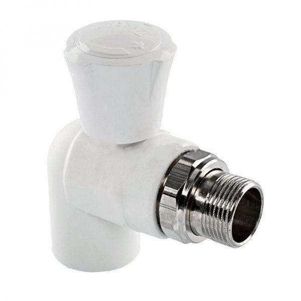 Радиаторный кран ПП угловой