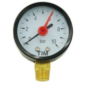 Манометр 6 бар радиальный 1/4 TIM