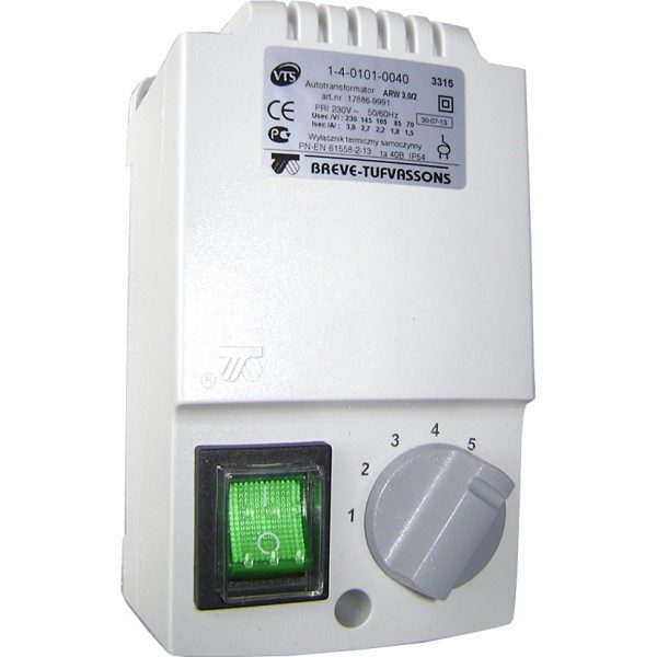 Регулятор скорости ARW3,0/2 (IP54)