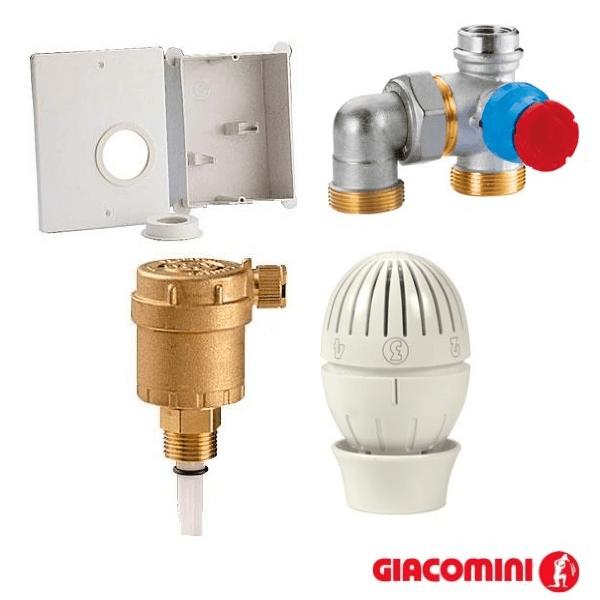 Термостатический комплект для теплого пола R508M Giacomini