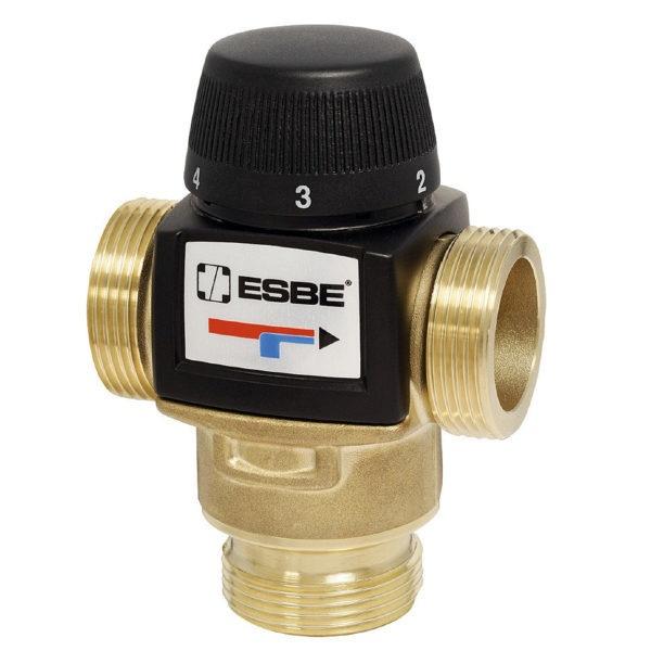 """Клапан термостатический ESBE VTA 572 20-55°C н.р.1"""" Kvs 4.5 PN10"""
