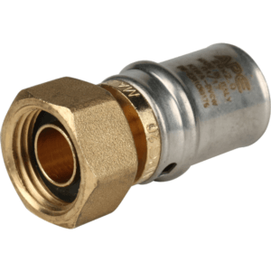 STOUT переходник с накидной гайкой для металлопластиковых труб