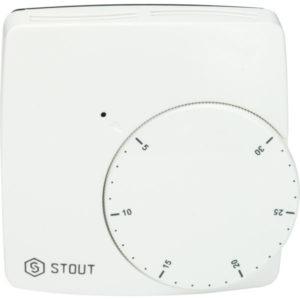 STOUT Проводной электронный термостат WFHT-BASIC
