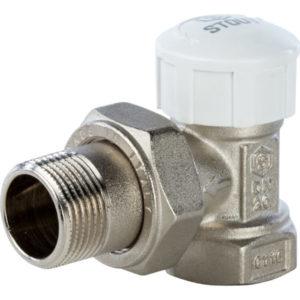 Клапан термостатический STOUT 1/2 угловой