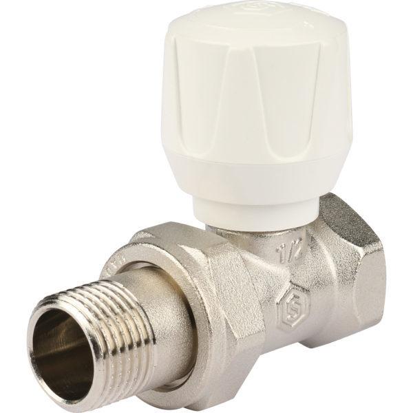 STOUT Клапан ручной терморегулирующий, прямой