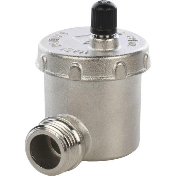 Автоматический воздухоотводчик STOUT 1/2 угловое подключение