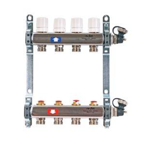 Коллектор Uni-Fitt на 12 выходов без расходомеров