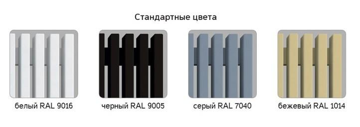 "Трубчатый радиатор Loten ""Grey V"" 1000мм 4 секции"