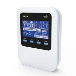 Беспроводной терморегулятор для радиатора TECH WiFi 8S