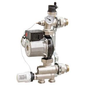 Насосно-смесительная группа Uni-Fitt solomix 1″ с насосом Wilo RS 25/6-130